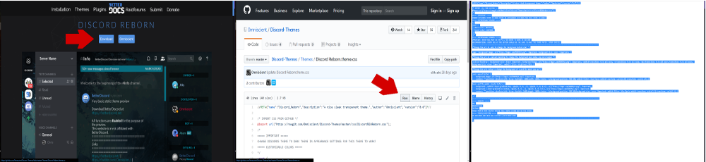 How to get themes on discord servers